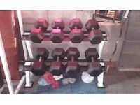 Heavy Set of dumbells