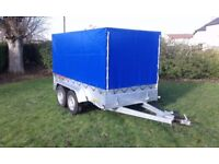 New Trailer 10 x 5 twin axle with brakes and cover