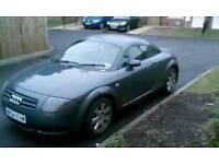 2004/54 Audi tt 180bhp 100k full history long mot 2-owners , alloy,leathers,xenons,bose , £1695
