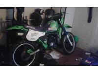 kawasaki kmx 125 1990 for sale