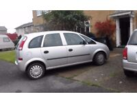 Vauxhall Meriva 1.4 MOT March 2018 Sold as Spares & Repairs