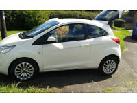 Clean car, fuel efficient (start/stop), many additional features.