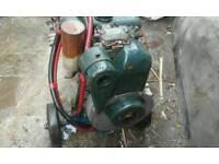 Diesel pressure washer Petter