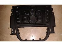 Vauxhall Meriva Mk2 or B Radio control Panel Used but in excellent working order like new
