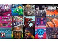 International Top Street Artist Mural Graffiti Art Festivals - Available UK Nationwide