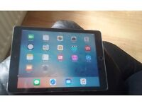 Apple i pad air 16gb wi-fi and unlocked to any sim .can also be picked up from stoke on trent area