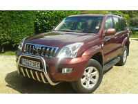 TOYOTA LANDCRUISER COLORADO 4Dx4D AUTO 53reg Diesel 8 SEATER JEEP