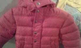 red john Lewis puffs jacket age 3 years 5. 00