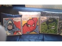 Marvel faces canvas picture trio
