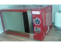 Russell Hobbs red microwave good condition