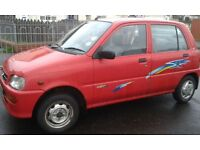 DAIHATSU CAR WITH MOT TILL NEXT YEAR APRIL 2017