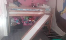 Top bunk single bed