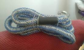 Unused stretchy towrope
