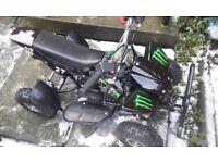 quad for sale spare or repair cash offers