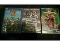 Power Rangers and Vr Troopers dvds