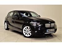BMW 1 SERIES 2.0 120D URBAN 5d AUTO 181 BHP + AIR CON + AUX + L (black) 2012