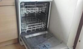 Full size pro action dishwasher