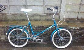 folding bike sturmey archer 3 speed