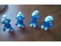"4 Smurfs ( 4"" )"