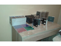 varied selection of dvd holders and ink for epson 285 printer/delux webcam