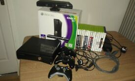 XBOX 360 Connect (With Games)