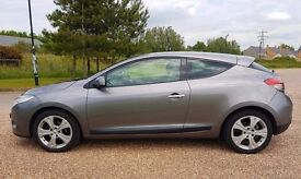 CLEAN AND SMART 2009 RENAULT MEGANE COUPE 1.6 PETROL FULL SERVICE HISTORY 12 MONTHS MOT # £2999.99
