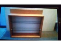 Glass Shelf Cabinet for sale