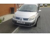 Renault scenic silver