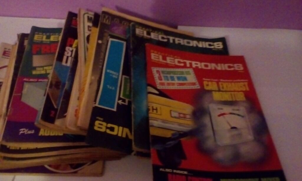 Electrical magazines from 60s and 70s