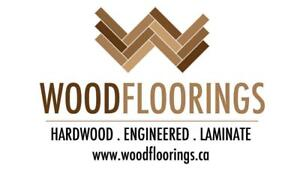 AC4 12mm Laminate Flooring $2.79/sqf - Installation & Delivery Included