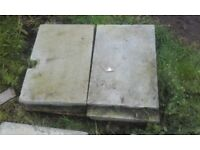 Paving slabs, various sizes and colours.Would prefer to sell as a job lot.