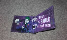 Batman,The joker wallet with character inside,Joker outside,ex cond,only £4,pos local delivery