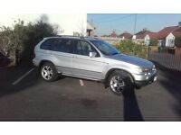 BMW X5 3.0L DIESEL MSPORT. GREAT RUNNER NEEDS A FEW MINOR REPAIRS, FULL MOT DRIVE AWAY