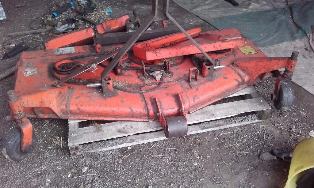 Kubota Mowing Deck Parts : Kubota rc mower deck spares or repair in blidworth