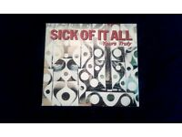 Sick Of It All ‎– Yours Truly, VG, CD Digipak, released on Fat Wreck Chords in 2000.