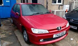 PEUGEOT 306 1.6 AUTOMATIC LONG MOT AUGUST 2017 PX WELCOME