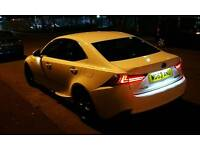Lexus IS 300H F SPORT WHITE ELECTRICITY , NAVIGAYION REV CAMERA