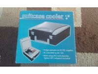 Car Cool Box, Fridge, 12v or 240v. Unused. Small convenient size.