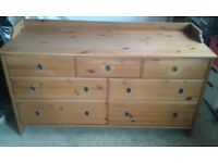 Sturdy chest of drawers