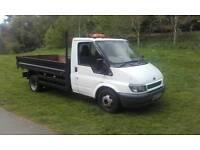 Tipper swaps for a van