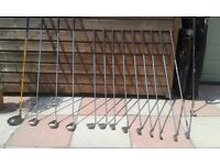 Full Set of Regency Golf Clubs With Bag For Sale - Only £50