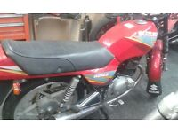 suzuki gs 125 running project