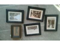 Frames with prints