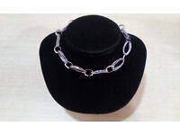 18CT White Gold and Platinium 100% Handmade in Florence Bracelet. MSRP: £600