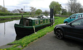 37ft steel narrow boat 1990 37ft by 6ft10