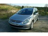 PEUGEOT 307 2.0 hdi sw se 7 seater
