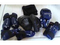 Sparring Kit - used for Tae Kwondo