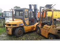 Samsung diesel 5 ton forklift and hyster 2.5 ton