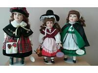 Leonardo porcelain dolls