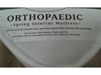 Brand New Double Orthopaedic Mattress, Still in Bag - King Size & Single Available Too